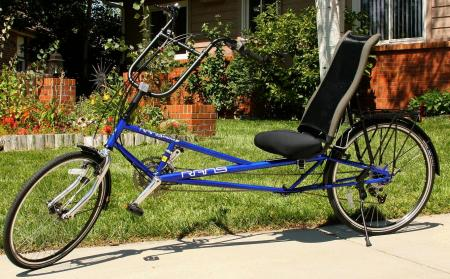 Photo of Rans Stratus XP recumbent bicycle