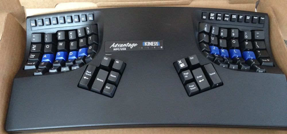 Kinesis keyboard photo