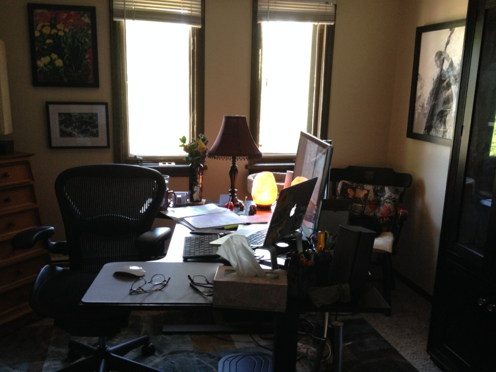 photo of my office