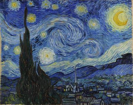 Starry Night, by Vincent Van Gogh